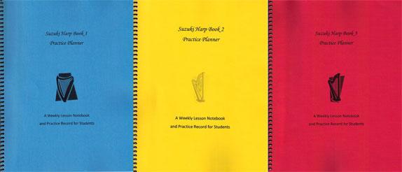 Suzuki Harp Books